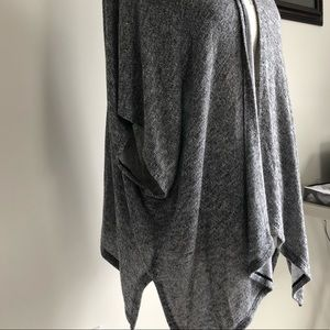 Grey flowy cardigan